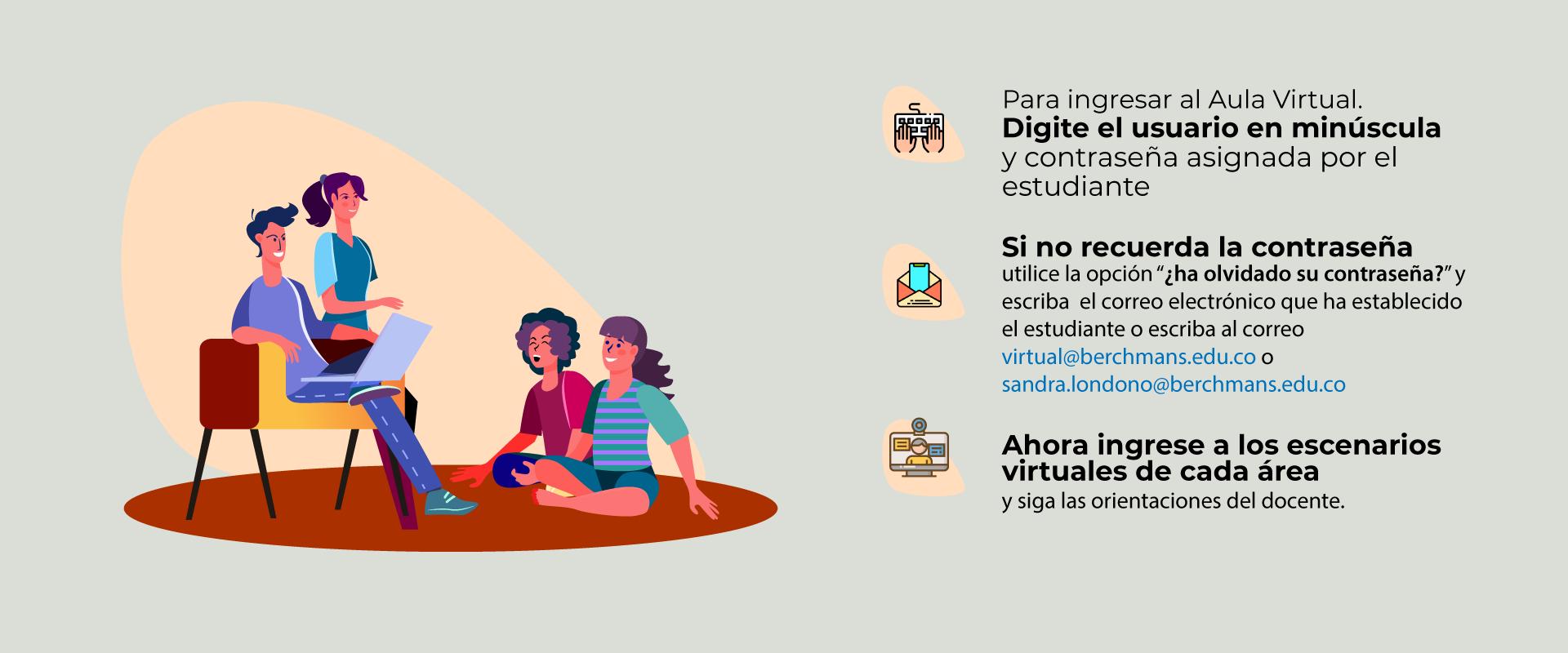 Bienvenidos al Aula Virtual - Bachillerato