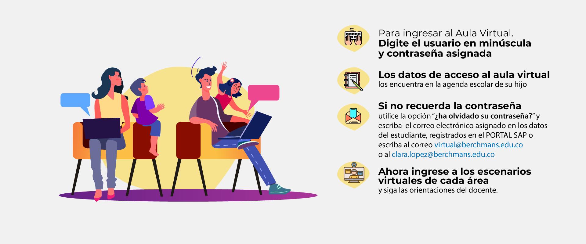 Bienvenidos al Aula Virtual - Primaria